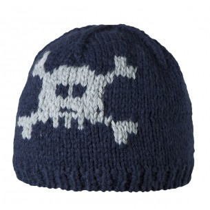 """Coole Beanie """" Skull"""" in Navy"""