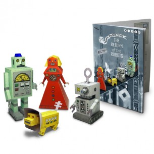"""Happy Paper Buch """"Return of the Robots"""""""