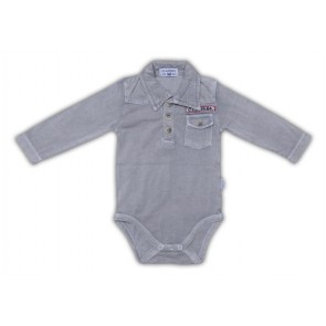 Superweicher Body in Light Grey