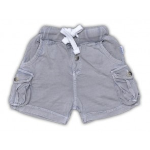 Superweiche Baby-Shorts in Light Grey