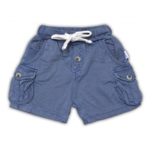Superweiche Baby-Shorts in Navy