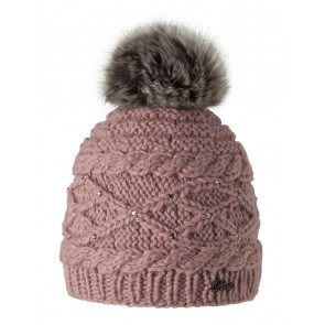 "Beanie ""Claire"" in Dusty Pink"