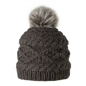 "Beanie ""Claire"" in Heather Brown"