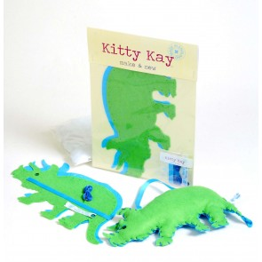 Make & Sew Felt Dinosaur Kit