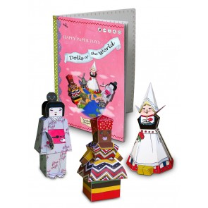 """Happy Paper Buch """"Dolls of the World"""""""