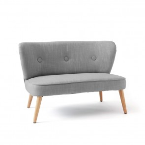 Kindersofa in Grau