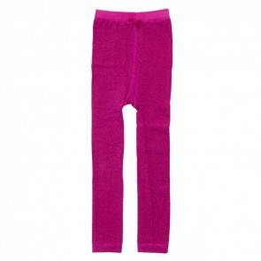 Glänzende Leggings in Super Pink