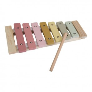 Holz Xylophon in Pink
