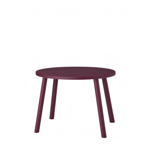 Kindertisch Maus Burgundy