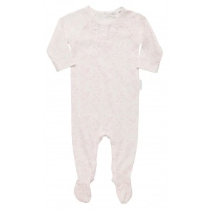 Girls Growsuit with Pink Floral Burst Print