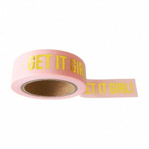 Washi Tape Blush 'Get it girl'