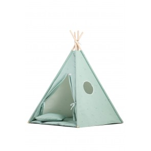 Tipi Set in Minty Green