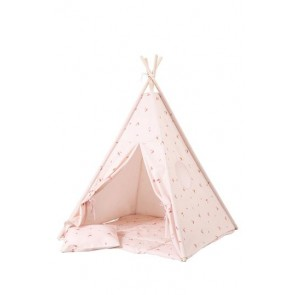 Tipi Set in Misty Rose