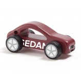 Holz Auto Aiden in Rot